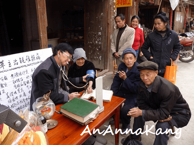 Lekarz uliczny w Chinach