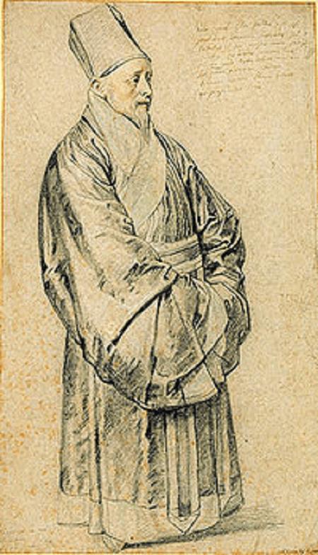 Nicolas Trigault w chińskim stroju