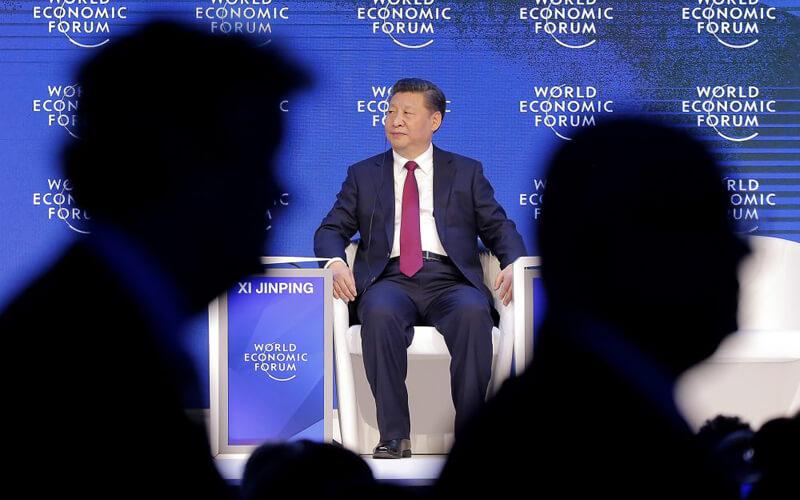 Xi Jinping w Davos
