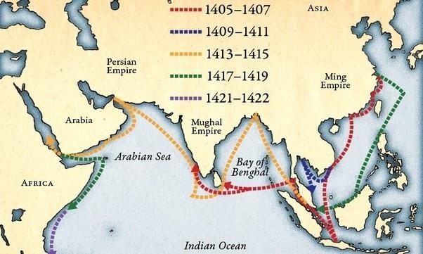 Podróże morskie Zheng He