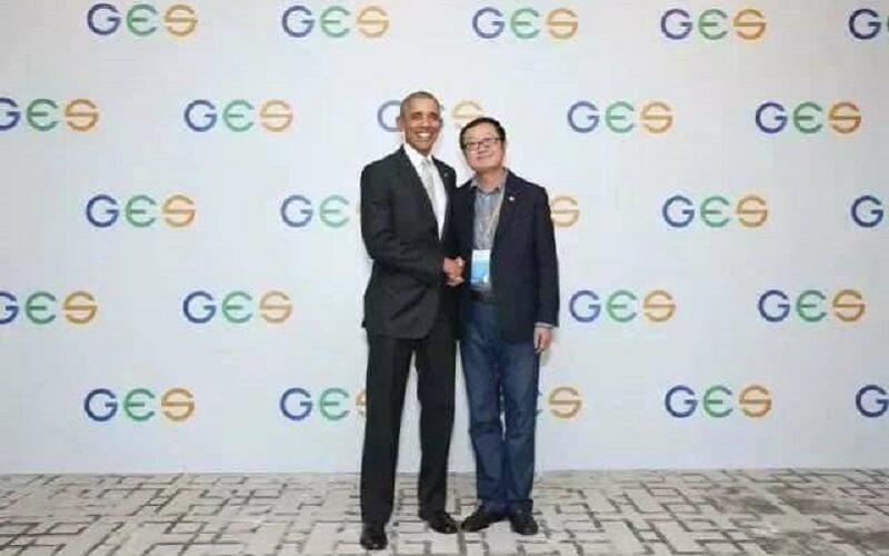 Barack Obama i Liu Cixin