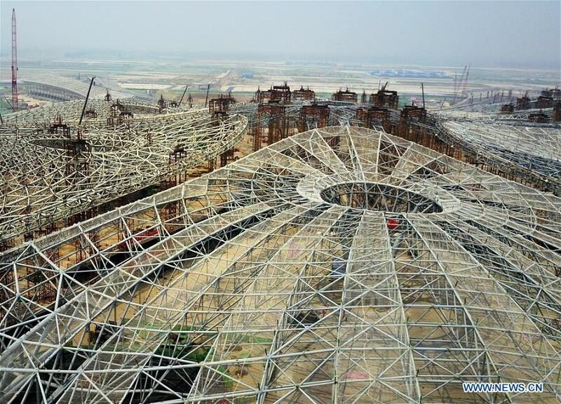 Nowe lotnisko w Pekinie