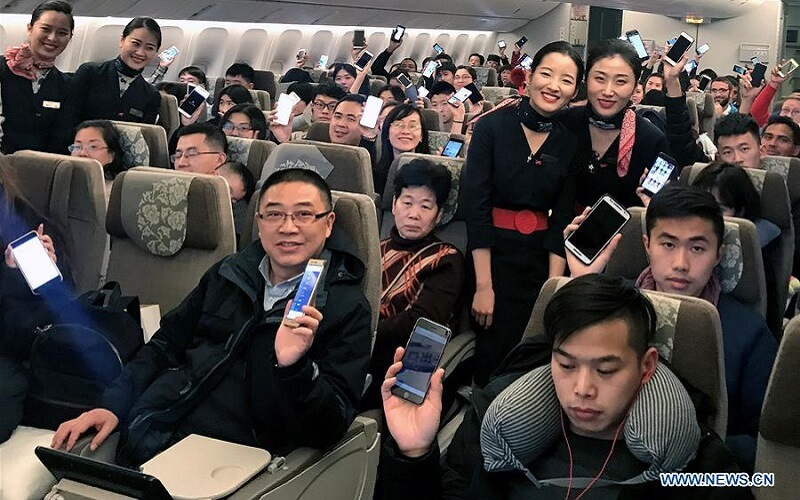 wifi w samolocie