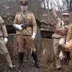 Dwóch Chińczyków przebrało się za japońskich żołnierzy z czasów II Wojny Światowej