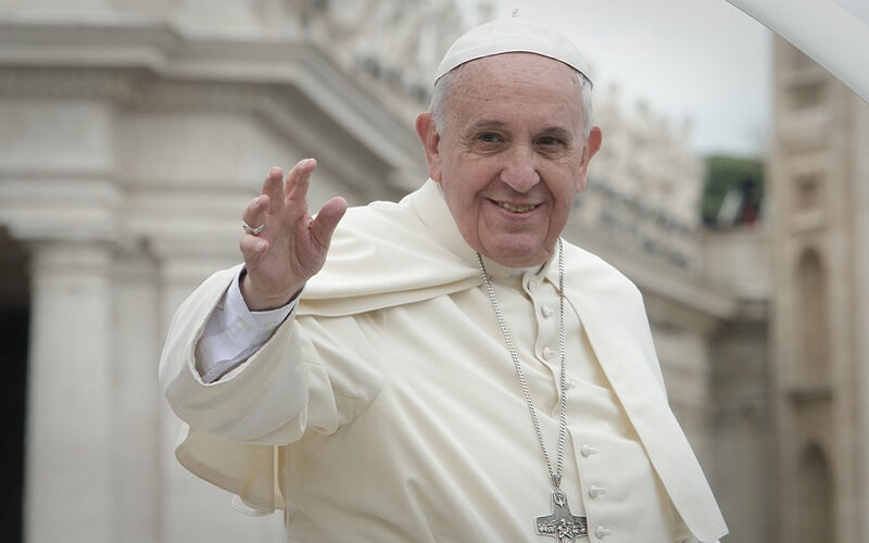 Papież Franciszek w Watykanie