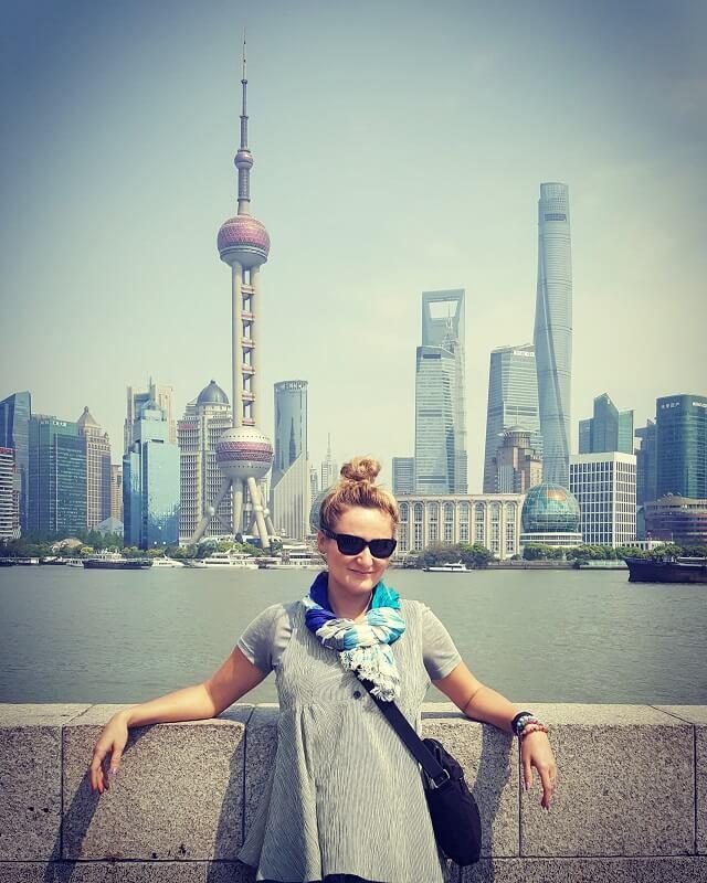 Paulina Madej w Szanghaju