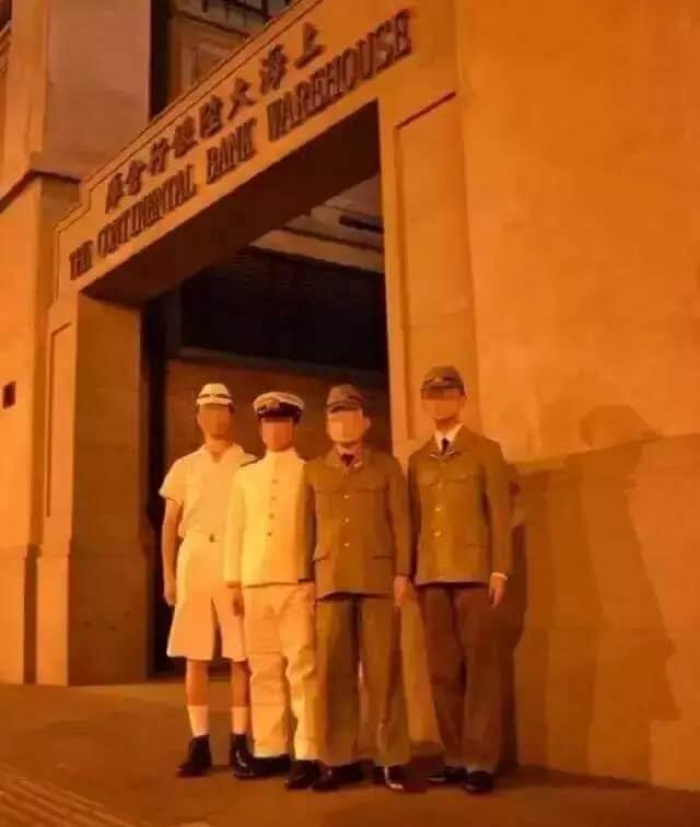 przebierańcy w Szanghaju