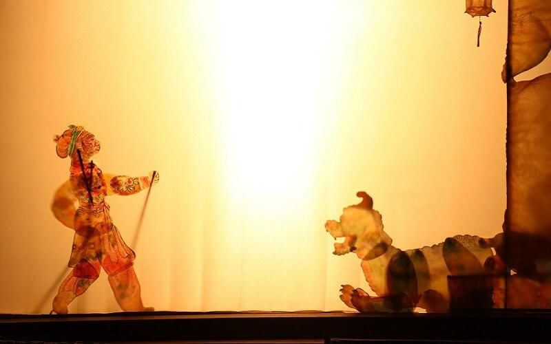 chiński teatr cieni