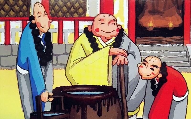 Trzej mnisi
