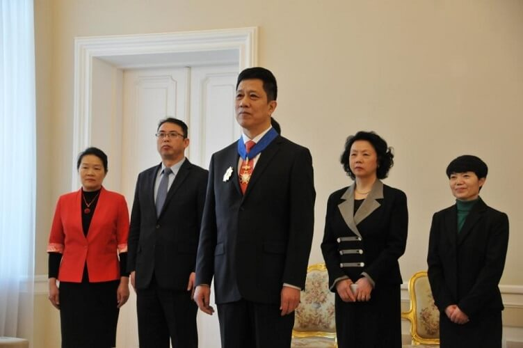Ambasador Chińskiej Republiki Ludowej, Xu Jian