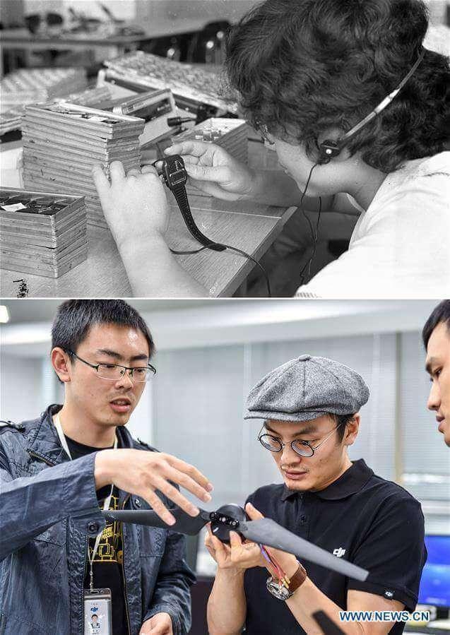 Fabryka zegarków i firma technologiczna DJI