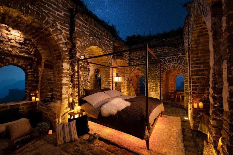 Sypialnia z widokiem na gwiazdy
