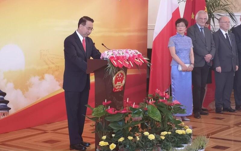 Ambasador Chin - Liu Guangyuan
