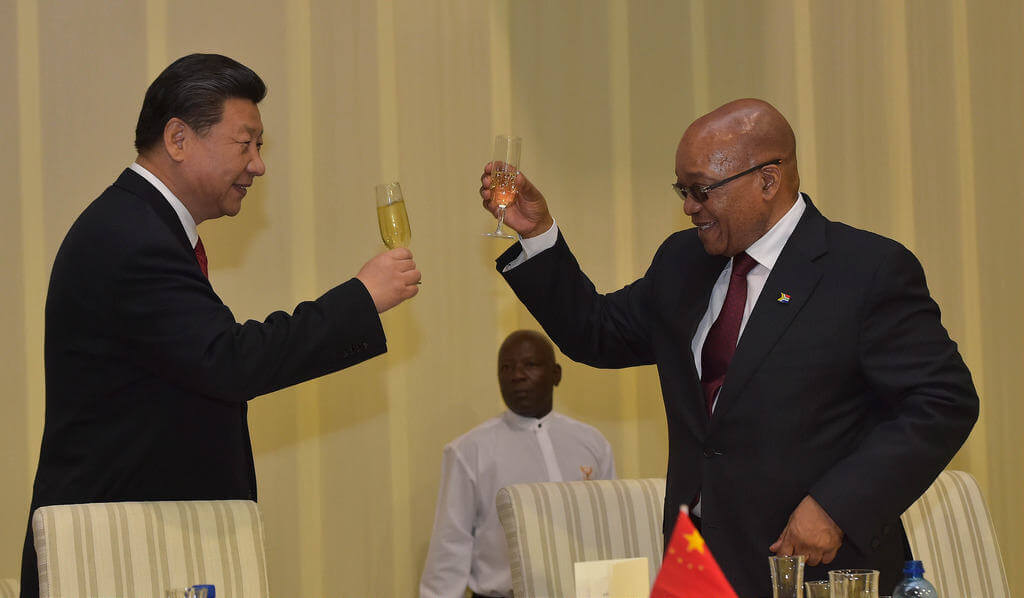 Chiny Afryka