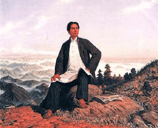 młody Mao Zedong