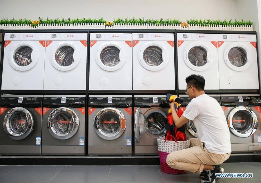 Moda na wypożyczenie w Chinach - pralki