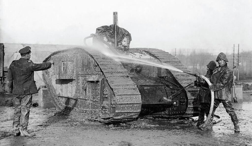 Brytyjski czołg