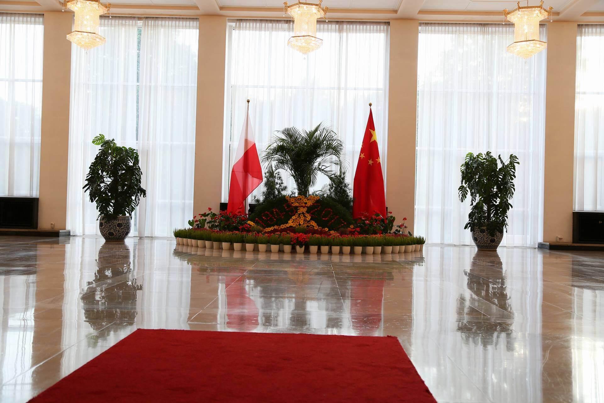 Przyjęcie w Ambasadzie z okazji rocznicy powstania Chińskiej Republiki Ludowej
