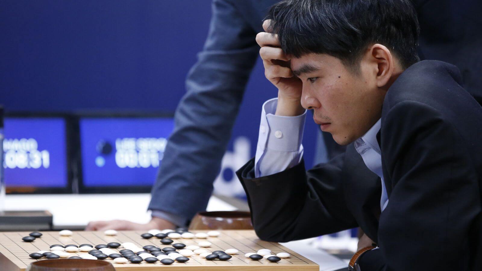 Lee Sedol w starciu z AlphaGo