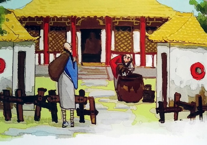 Odwiedziny wysokiego mnicha