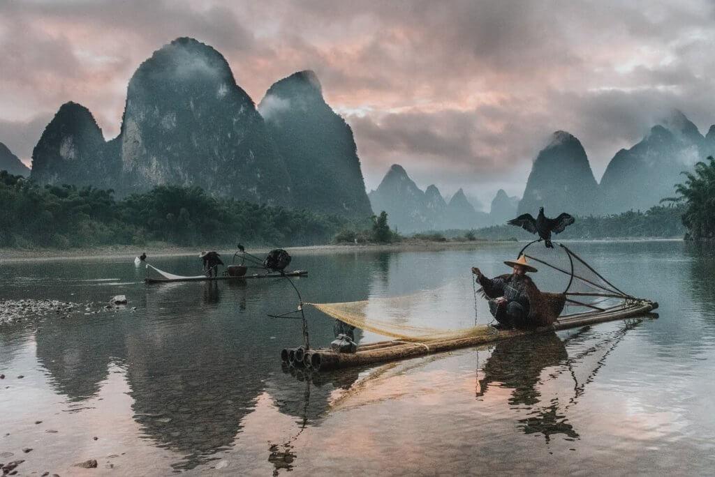5 najlepiej ocenianych atrakcji turystycznych w Chinach, rzeka Li