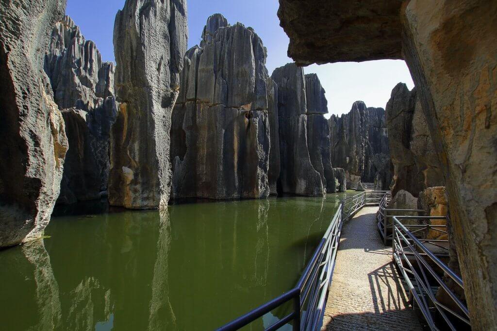 Kamienny las Shilin