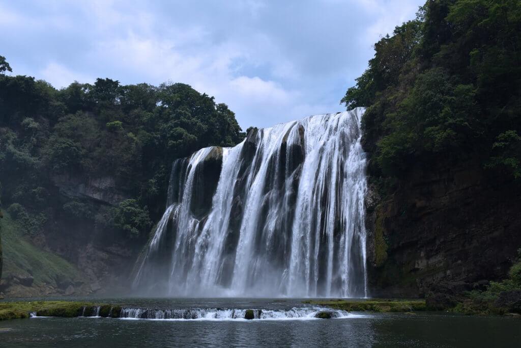 Wodospad Huangguoshu w Kuejczou