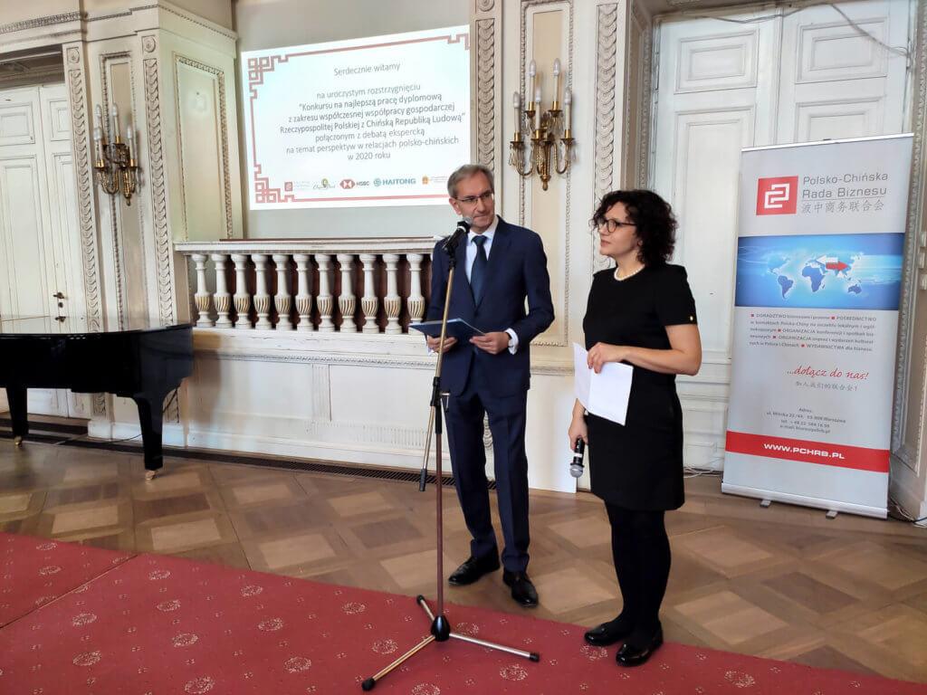 001 Prezes PChRB Dr Zbigniew Niesiobędzki i Wiceprezes Monika Karpińska2